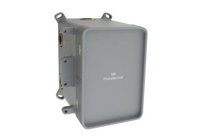 """SMART BOX Універсальний вбудований корпус для термостатичного змішувача на 1, 2 або 3 виходи, підключення 1/2"""" (100124168)"""