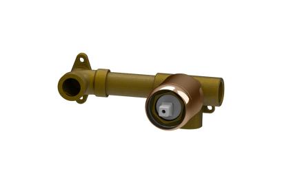 TONO Внутрішня частина вбудованого одноричажного змішувача для умивальника прихованого монтажу, колір мідний (100203651)