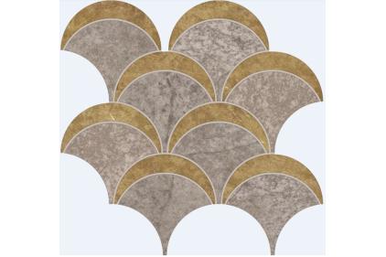 MOSAICO BAY GREY 22.8x24 (мозаика) P63