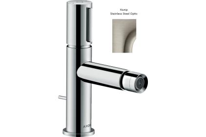 Смеситель Axor Uno Select для биде Stainless Steel Optic 45210800