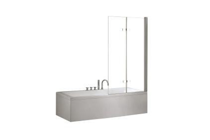 Шторка для ванни Lumix 100x145 прозора