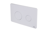 Smart-line Кнопка змиву RONDO подвійна біла (100104506)