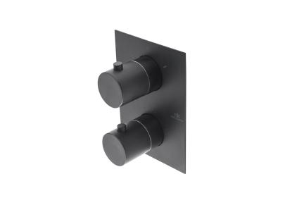 URBAN Зовнішня частина термостатичного змішувача smart box, чорна (100210638)