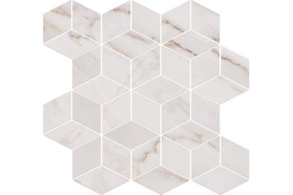 CARRARA MOSAIC WHITE 29х29.7 (мозаика)
