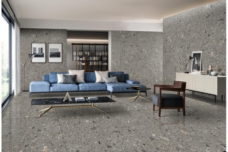 Плитка для підлоги під мармур, травертин і камінь формату 120х240 CERAMA MARKET. Фото 2