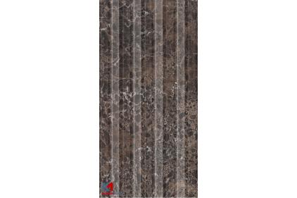 H47161 LORENZO 30х60 (плитка настінна) релєф, modern коричневий