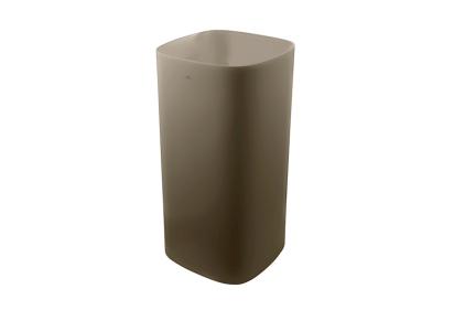 ARQUITECT Умивальник підлогови 42см без перелива, донний клапан clicker, керамічна кришка, колір - арена (100229832)
