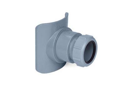 Муфта вертикальна для каналізаційних труб 110/50 mm. BOSSCONN110-50-GR
