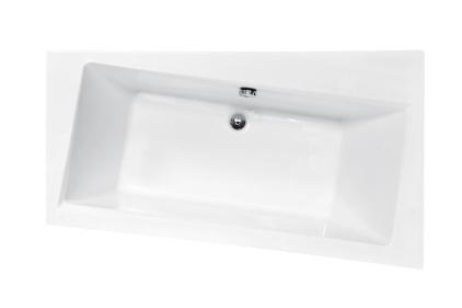 Ванна акрилова INFINITI 160х100 Права (соло) без ніг