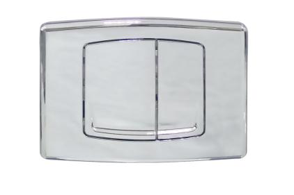 Кнопка для системи інсталяції хромована (75036)