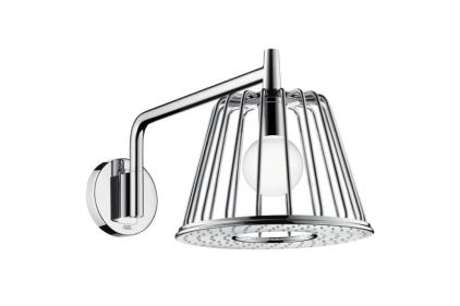 Верхній душ Axor Lamp 275 1jet з тримачем та лампою, колір - хром (26031000)