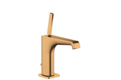 Смеситель Axor Citterio E 125 для раковины Brushed Gold Optic 36100250