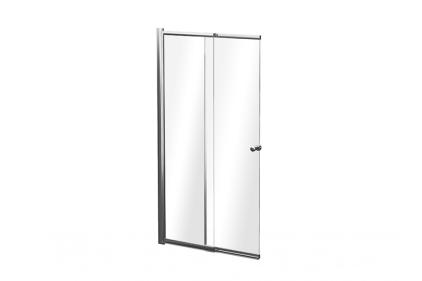 Шторка для ванни Easy Slide 2S 100x150 прозора, профіль хром