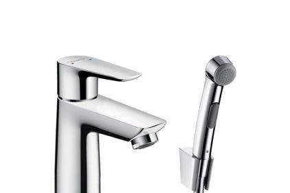 Смеситель Talis E 110 для умывальника с гигиеническим душем (71729000)