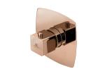 """LOUNGE Смеситель с термостатом скрытого монтажа 3/4 """": пропускная способность при 3 барах 60 л/мин., цвет - медь (100209817)"""