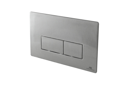 Smart-line Кнопка смыва RETTO двойная антивандальная с олиофобним покрытием, полированная сталь (100189502)