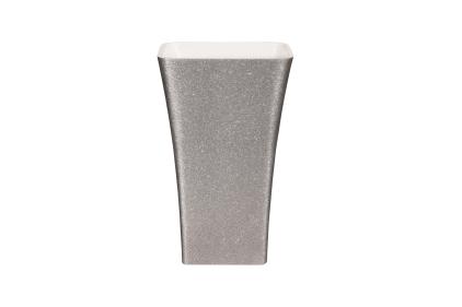 Умывальник свободностоячий ASSOS GLAM серебряный 41х52 ретро