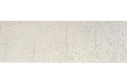 DEC.DROPS WHITE A 25х75 (плитка настінна, декор: краплини води на склі) S-79