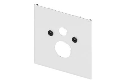 TECELux Нижня панель  для стандартного унітазу, скло біле (9650100)