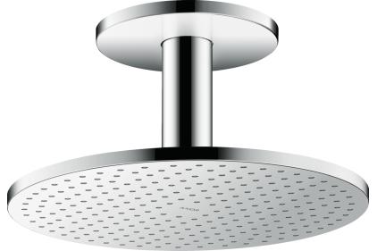 Верхний душ Axor 300 2jet P с держателем к потолку (35304000)