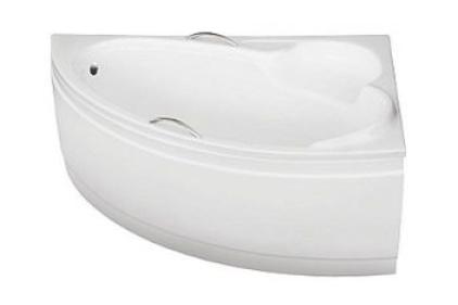 Ванна акрилова BIANKA 150х95 права без обудови (соло) з отворами під ручки / без ручок