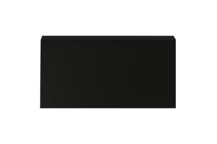 Декоративний плінтус PRO-SKIRTING BLACK 6х250х1.2