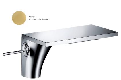 Смеситель Axor Massaud 110 для раковины Polished Gold Optic 18010990