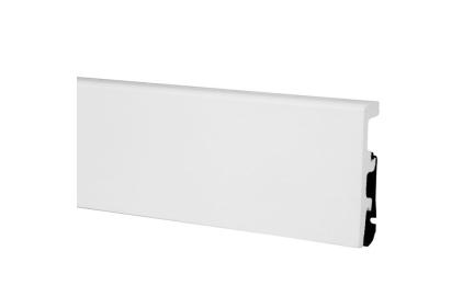 ПЛІНТУС ARBITON INTEGRA Білий 2400х80х21