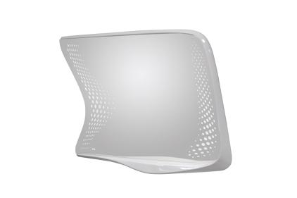 VITAE Дзеркало 1290х925 мм праве біле + LED підсвітка (100184400)