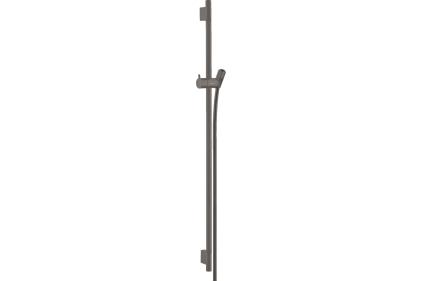 Душевая штанга Unica S Pura 90 см со шлангом 160 см Brushed Black Chrome (28631340)