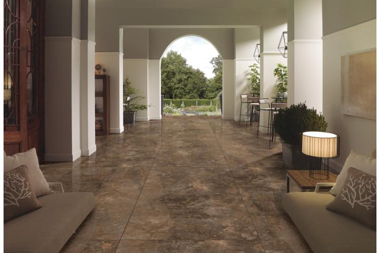 Плитка для підлоги під мармур, травертин і камінь формату 120х240 CERAMA MARKET. Фото 9