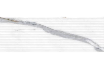 BLUMARINE WHITE STRUCTURE SATIN 25х75 (плитка настенная)
