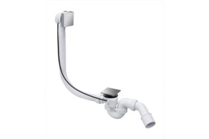 Сифон для ванны (автомат) 40/50 HC31SQ-CBS1-1M квадратный