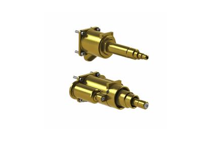 SMART BOX Внутрішня частина термостатичного змішувача на 3 виходи для вбудованого корпусу (100124171)