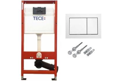 Комплект Інсталяції TECE base 3в1 + клавіша Base біла (9400000)