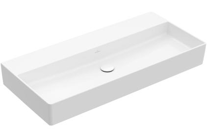 MEMENTO 2.0 Раковина на столешницу 1000x470 мм без отверстия (4A221F01) Titan Ceram