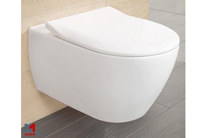 SUBWAY 2.0 Унітаз підвісний Rimless 56 см + сидіння Slim 9M78S101 (5614R201)