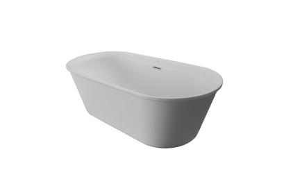 ARQUITECT Ванна акрилова 172х78 · 55H, 260 літрів. з переливом / овальна біла матова (100206872)