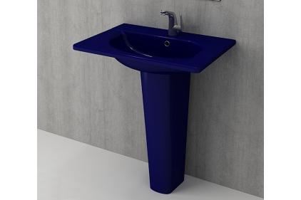 Умывальник TAORMINA ARCH 65х45 глянцевый сапфир синий (1009-010-0126)
