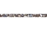 171301 WANAKA 40х3 (фриз рельефный бежевый) (камни)