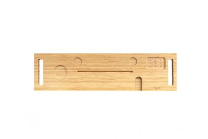 Полиця до ванни COMA 85x22 дерев'яна