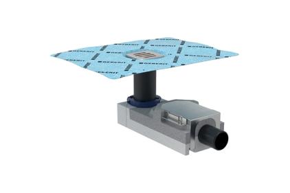 Душовий елемент (трап) Duofix з основою для монтування змішувача, висота 90мм, d 50 мм (154.050.00.1)