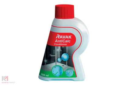 Чистячий засіб RAVAK AntiCalc Conditioner 300 ml для скла