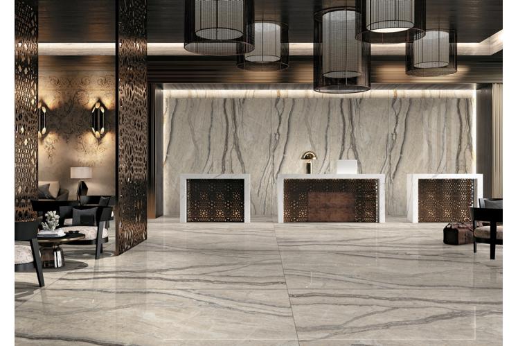Плитка для підлоги під мармур, травертин і камінь формату 120х240 CERAMA MARKET. Фото 17