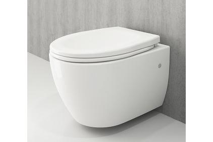 Унитаз подвесной XL + сиденье дюропластовое (1167-001-0129 + A0320-001)