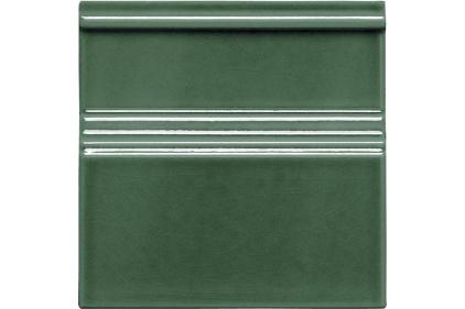 ADMO5205 MODERNISTA RODAPIE CLASICO C/C VERDE OCURO 15x15 (фриз)