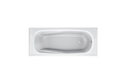 Ванна стальная BLB EUROPA ANATOMIKA 160х70 с отверстиями для ручек / БЕЗ РУЧЕК / новые ручки - 208 мм