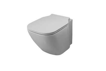 ESSENCE-C Унітаз підвісний COMPACT білий 510 мм з кріпленням (100229785)