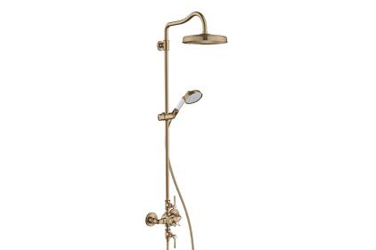 Душевая система Classic 240 1jet с термостатом Brushed Bronze (16572140)