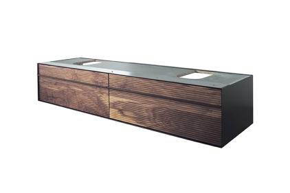 ESSENCE-C Підвісний модуль 140 см, фасад в кольорі грецький горіх (100236909)
